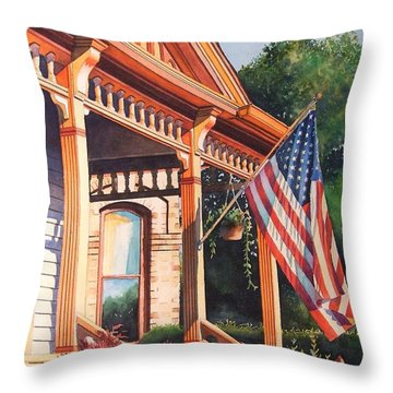The Founders Home Throw Pillow