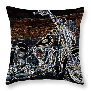 The Great American Getaway Throw Pillow