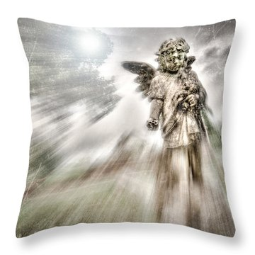 The Guardian Throw Pillow by Brent Craft