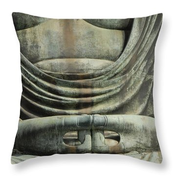 The Hands Of Diabutsu Throw Pillow