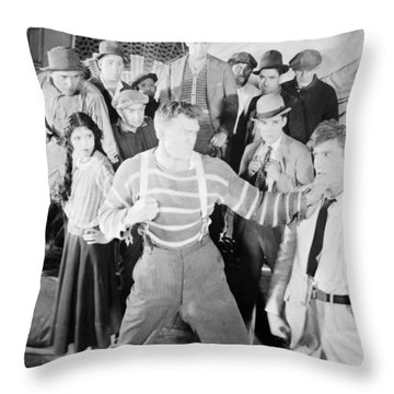 The Happy Warrior, 1925 Throw Pillow by Granger