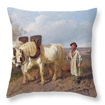 The Harrowing Team Throw Pillow