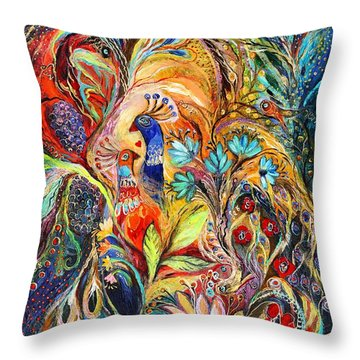The Harvest Time ... Visit Www.elenakotliarker.com Throw Pillow by Elena Kotliarker