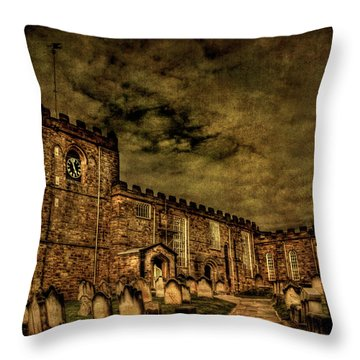 The House Of Eternal Being Throw Pillow