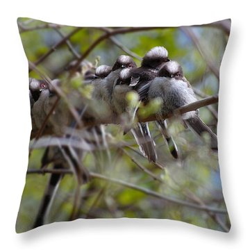 The Huddle Throw Pillow