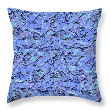 The Ice Age Throw Pillow