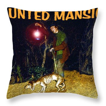 The Keeper Throw Pillow by David Lee Thompson
