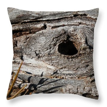 The Knot Throw Pillow