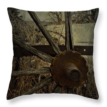 The Land That Turns  Throw Pillow by Jerry Cordeiro