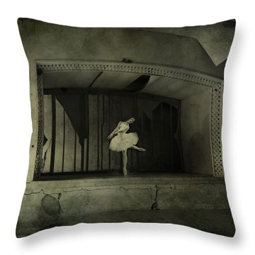 The Last Song  Throw Pillow by Jerry Cordeiro
