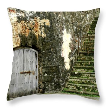 The Leprechaun Vault Throw Pillow