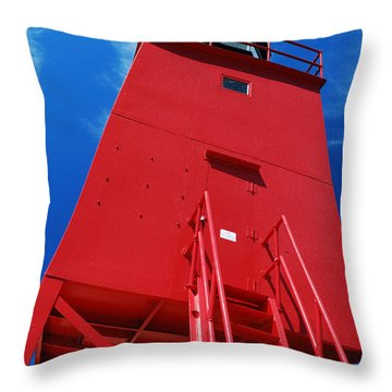 Throw Pillow featuring the photograph The Light - Reaching Towards Heaven by Janice Adomeit