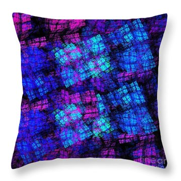 The Lights Are On But No One Is Home Throw Pillow by Andee Design