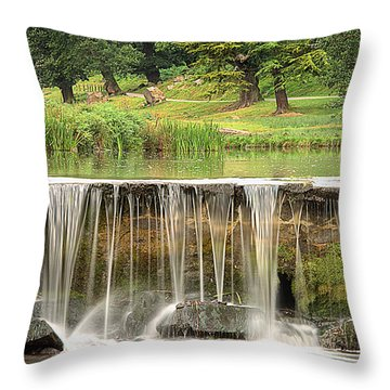 The Lin Throw Pillow by Linsey Williams