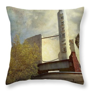 The Lorenzo Throw Pillow by Laurie Search