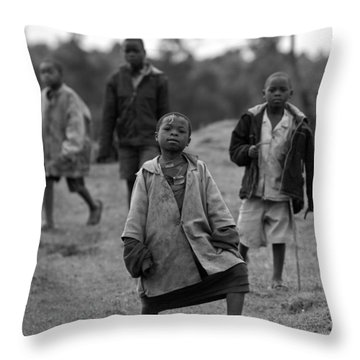 The Lost Boys Throw Pillow by Max Waugh