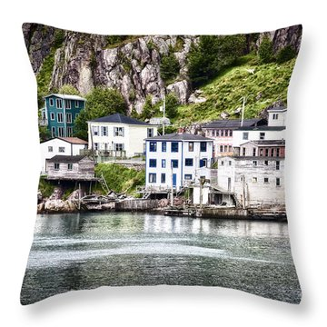 Throw Pillow featuring the photograph The Lower Battery by Verena Matthew