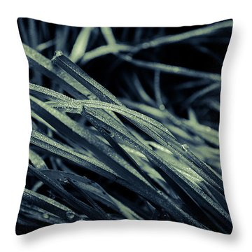 The Lying Grass Throw Pillow by Andreas Levi