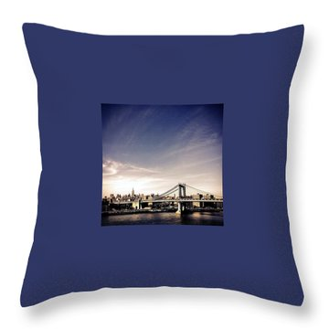 Skylines Throw Pillows