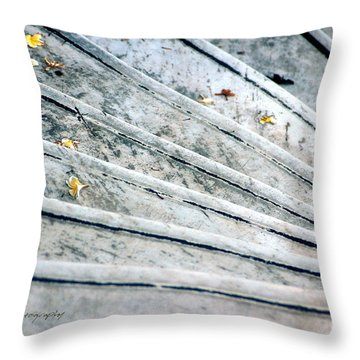 The Marble Steps Of Life Throw Pillow by Vicki Ferrari