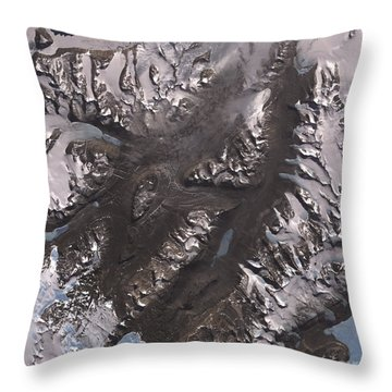 The Mcmurdo Dry Valleys West Of Mcmurdo Throw Pillow by Stocktrek Images