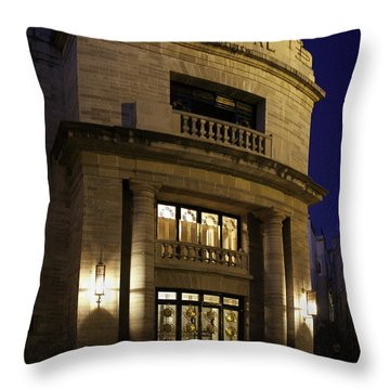 Throw Pillow featuring the photograph The Meeting Place by Lynn Palmer