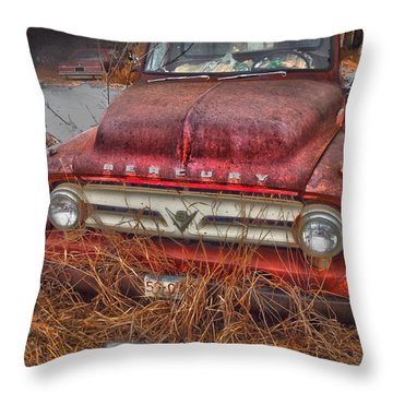 The Merc Throw Pillow by The Artist Project