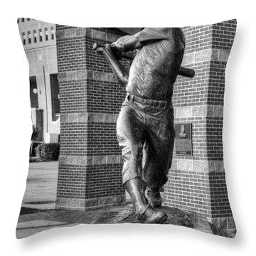 The Mick Throw Pillow