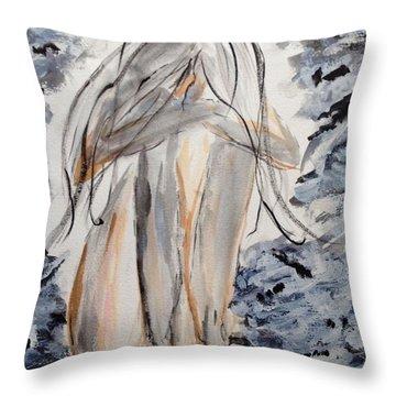 The Migraine Throw Pillow