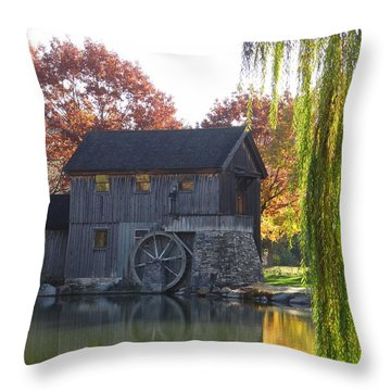 The Millhouse Throw Pillow