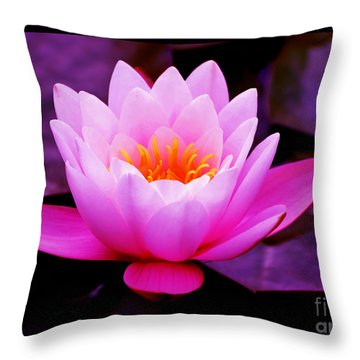 The Mind Of God Throw Pillow