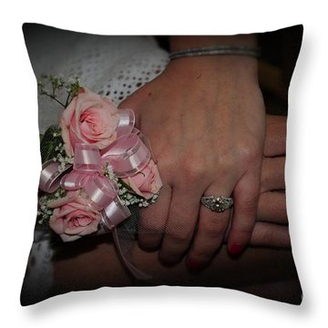 The Moment She Knew Throw Pillow by Paul Ward