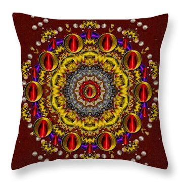 The Most Beautiful Throw Pillow by Pepita Selles