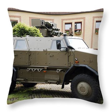 Grenade Launcher Throw Pillows