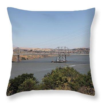 Carquinez Bridge Throw Pillows