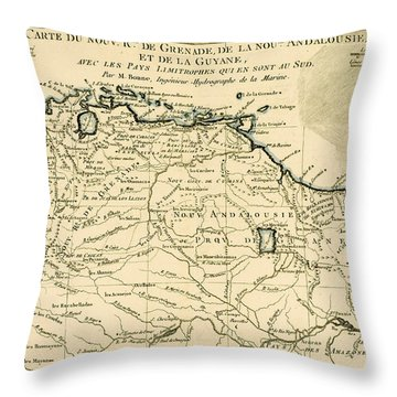 The New Kingdoms Of Grenada Throw Pillow by Guillaume Raynal