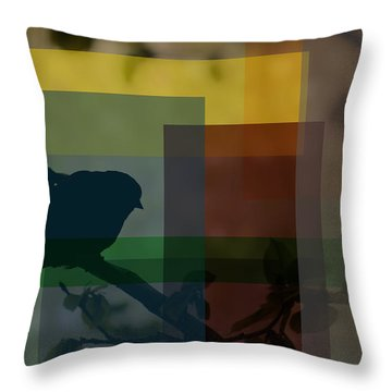 The Night Watcher Throw Pillow