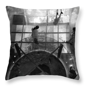 Throw Pillow featuring the photograph The Oculus by Lynn Palmer