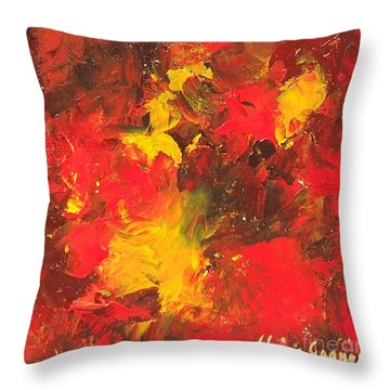 The Old Masters Throw Pillow
