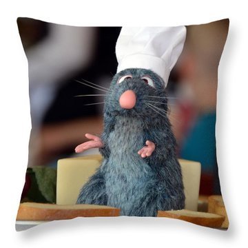 The Only Rat I Like Throw Pillow