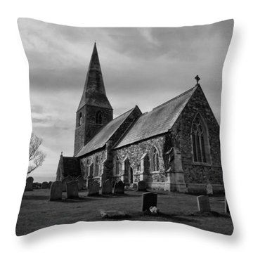 The Parish Church Of All Saints Throw Pillow
