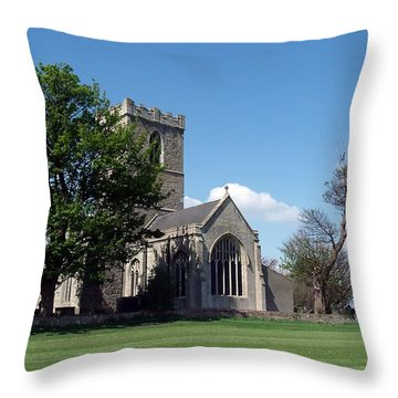 The Parish Church Of St Andrew Throw Pillow