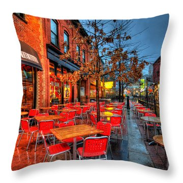 The Patio Throw Pillow