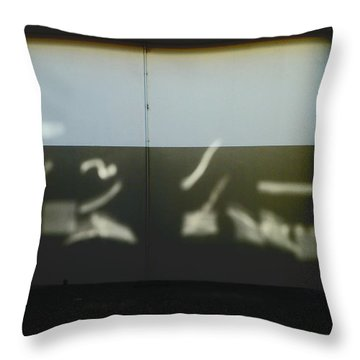 The Picasso Light Throw Pillow by Steve Taylor