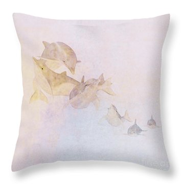 The Pod Throw Pillow by John Edwards