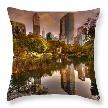 The Pond Throw Pillow