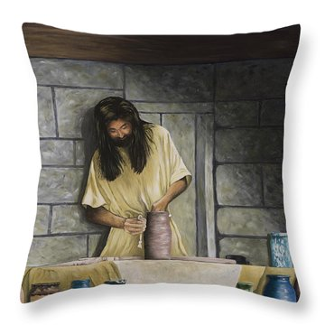 The Potter's House Throw Pillow