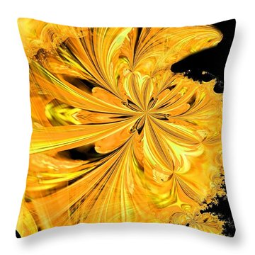 The Prince Is Having A Ball Throw Pillow by Maria Urso