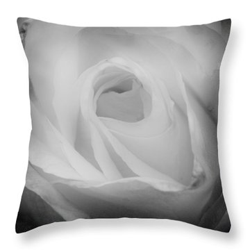 The Princess Diana Rose IIi Throw Pillow by David Patterson