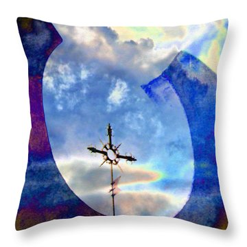 The Promise Throw Pillow by Lenore Senior